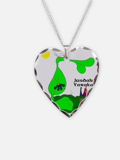 Jundah Yaraka The Green Boomb Necklace
