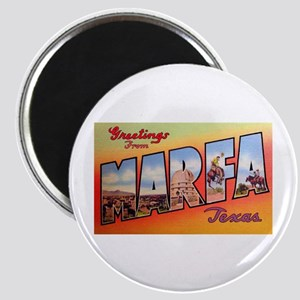 Marfa Texas Greetings Magnet