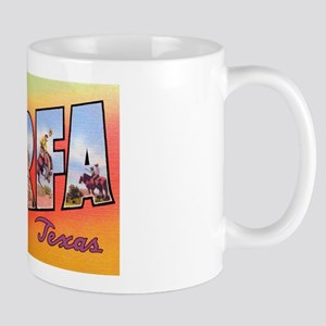 Marfa Texas Greetings Mug