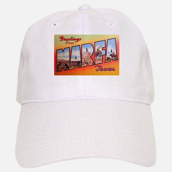 Marfa Texas Greetings Baseball Baseball Cap
