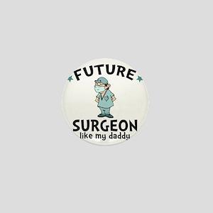 Surgeon Dad Mini Button