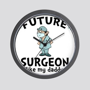 Surgeon Dad Wall Clock