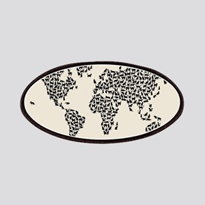 Cats Map of the World Map Patch