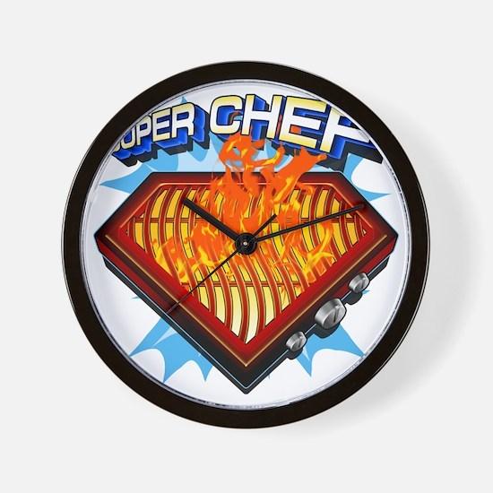 super chef Wall Clock