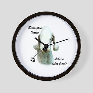 Bedlington Breed Wall Clock