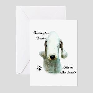 Bedlington Breed Greeting Cards (Pk of 10)