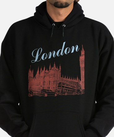 London_10x10_apparel_BigBen_LightBlu Hoodie (dark)