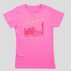 LondonEngland_wmn_plusscoop_BigBen_Yell Girl's Tee