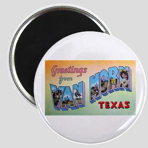 Van Horn Texas Greetings Magnet