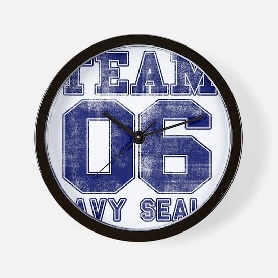 team6navy Wall Clock