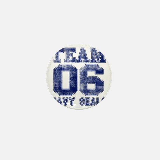 team6navy Mini Button