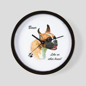 Boxer Breed Wall Clock