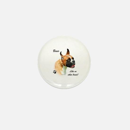 Boxer Breed Mini Button