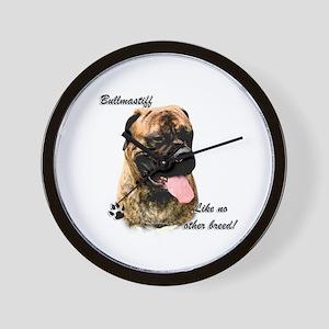 Bullmastiff Breed Wall Clock
