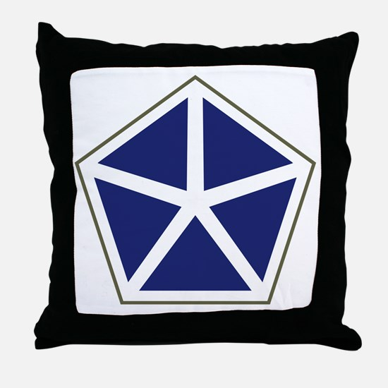 V Corps Throw Pillow
