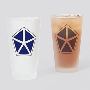 V Corps Drinking Glass