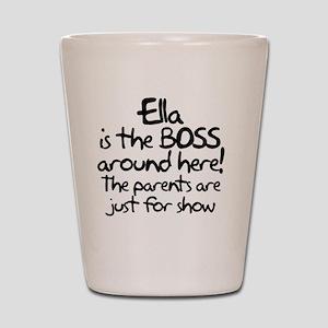boss_ella Shot Glass