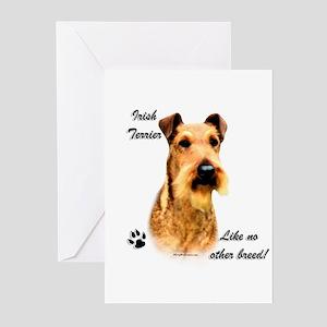 Irish Terrier Breed Greeting Cards (Pk of 10)