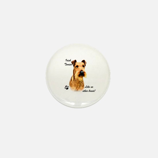 Irish Terrier Breed Mini Button