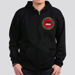 VII Corps Zip Hoodie (dark)