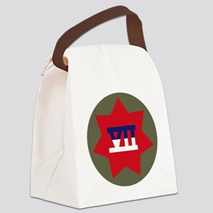VII Corps Canvas Lunch Bag