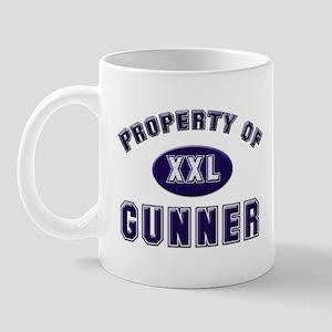 Property of gunner Mug