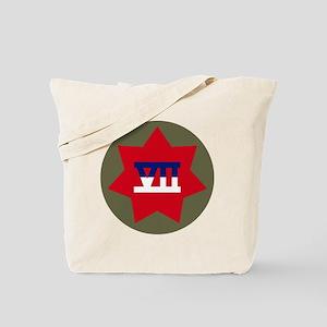 VII Corps Tote Bag