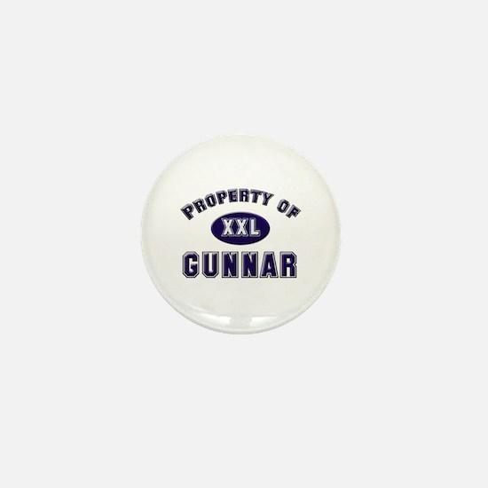 Property of gunnar Mini Button