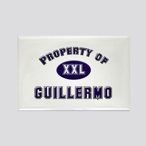Property of guillermo Rectangle Magnet