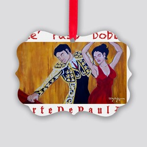 Paso Doble Picture Ornament