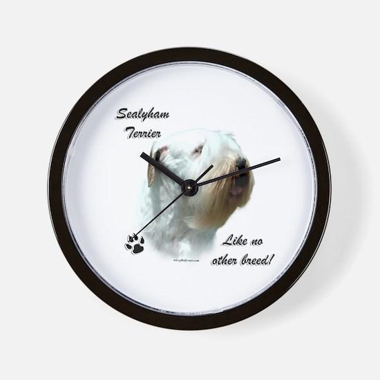Sealy Breed Wall Clock