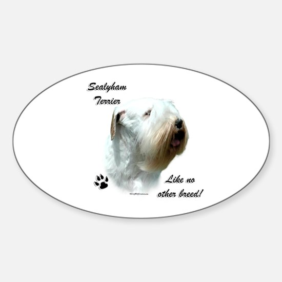 Sealy Breed Oval Decal
