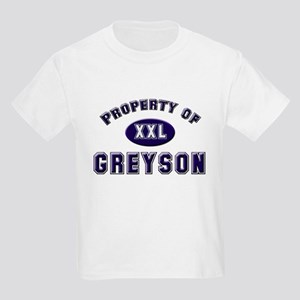 Property of greyson Kids T-Shirt