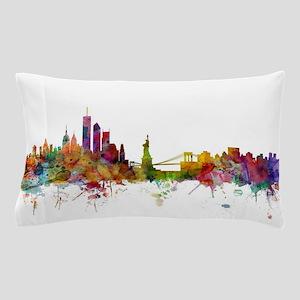 New York Skyline Pillow Case