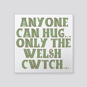 Hug And Cwtch Sticker