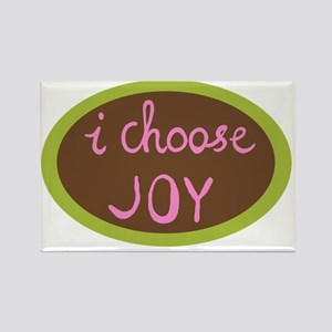 I Choose Joy - Women Rectangle Magnet