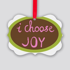 I Choose Joy - Women Picture Ornament