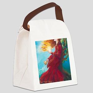 Brigids Fire Canvas Lunch Bag