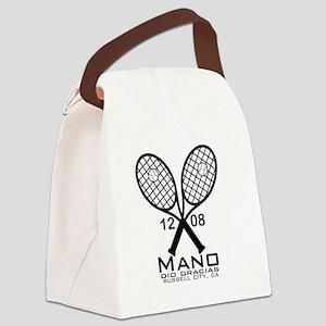 manotennis Canvas Lunch Bag