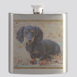 Puppy Love Doxie Flask