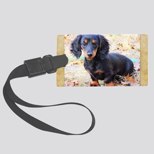 Puppy Love Doxie Large Luggage Tag