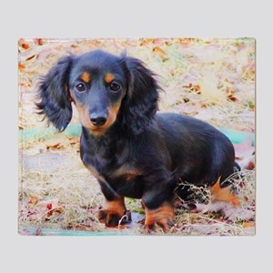 Puppy Love Doxie Throw Blanket