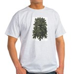 Ash Grey Green Man T-Shirt
