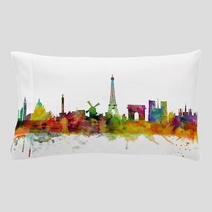 Paris France Skyline Pillow Case
