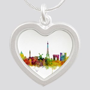 Paris France Skyline Necklaces