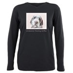 Wirehaired Pointing Grif Plus Size Long Sleeve Tee