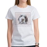 Wirehaired Pointing Women's Classic White T-Shirt