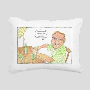New Home cr. Rectangular Canvas Pillow