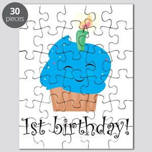 firstbirthdayblue Puzzle