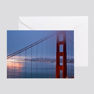 Golden Gate Bridge at Dawn Greeting Card